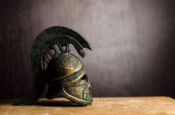 Casque Grec ancien
