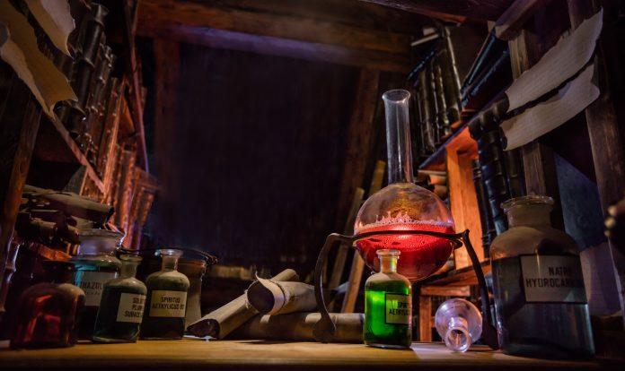 Alchimie laboratoire