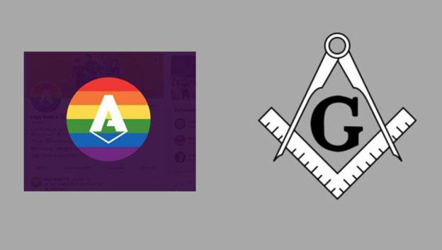 Logo Serie A et Franc-Maçonnerie