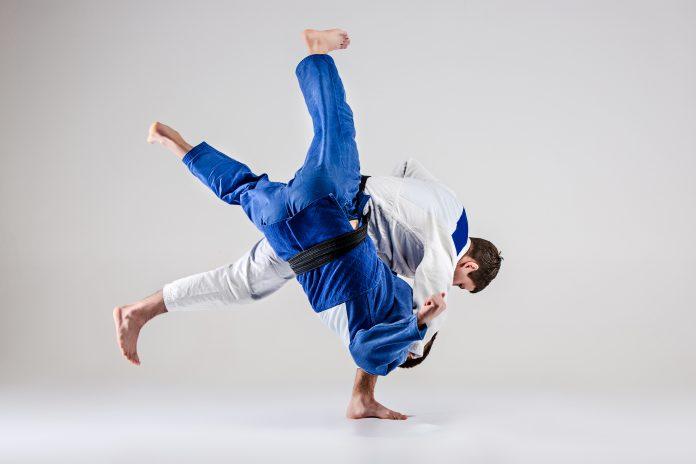 Prise de judo technique de projection