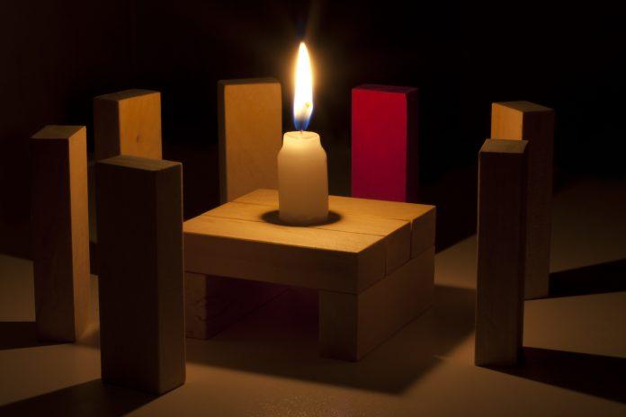 Secte,Rassemblement,Mystique,Rituel,Abstrait,Concept, bougie, flambeau, lumière, flamme