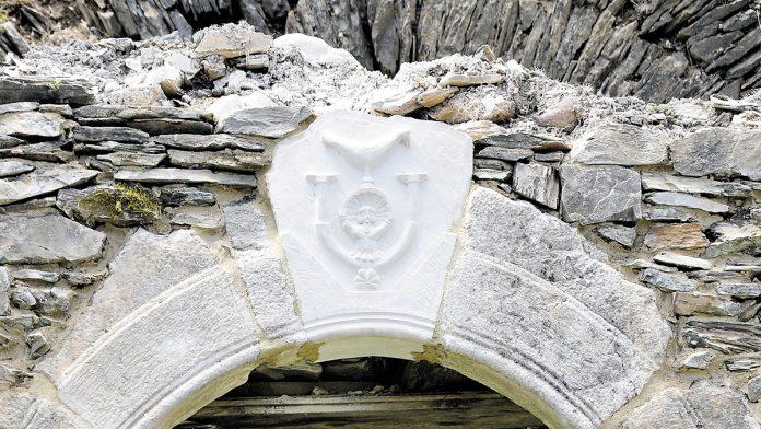 pierre gravée réalisée à l'Atelier Ecole
