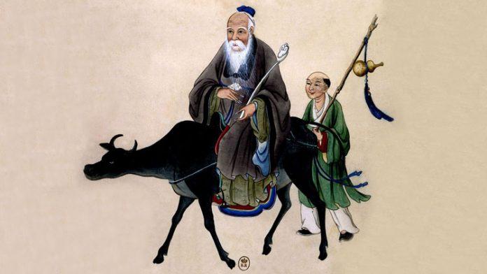 lao tseu sur beuf suivi par moine