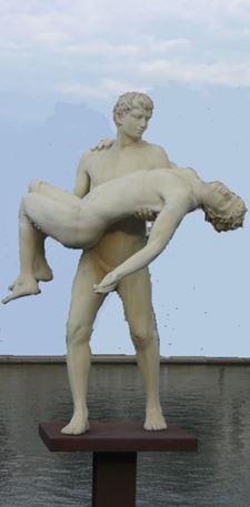 poids de soi, je est une autre, nu en sculpture