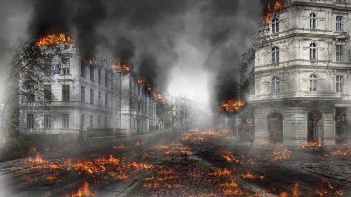 Fin du monde apocalypse à Paris