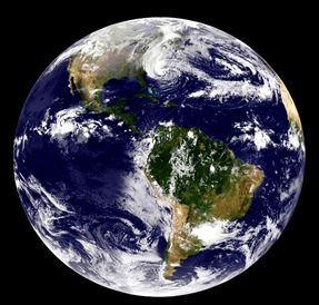 Globe terrestre, La terre