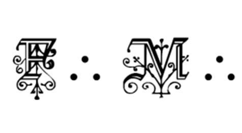 abréviation, triangle, triponctuation