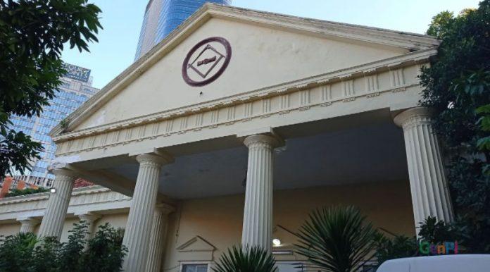 Le-bureau-de-l'Agence-nationale-des-terres-(BPN)-sur-Jalan-Tunjungan,