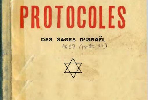Les Protocoles des Sages de Sion