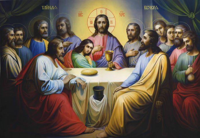 Vendredi 13 la Cène avec le Christ