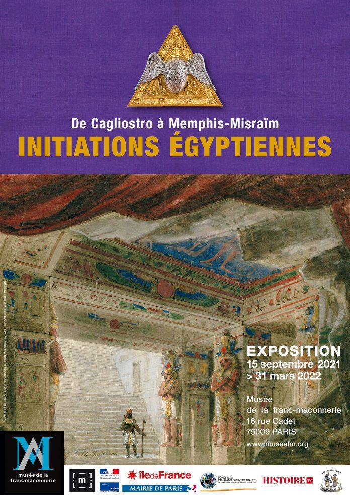 Affiche expo Égypte
