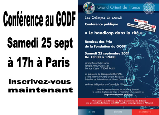 Conférence au GODF