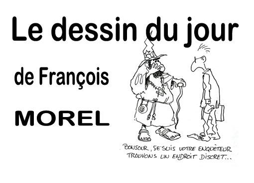 François-Morel l'enqueteur