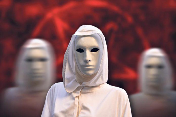 Masque Blanc genre carnaval de Venise