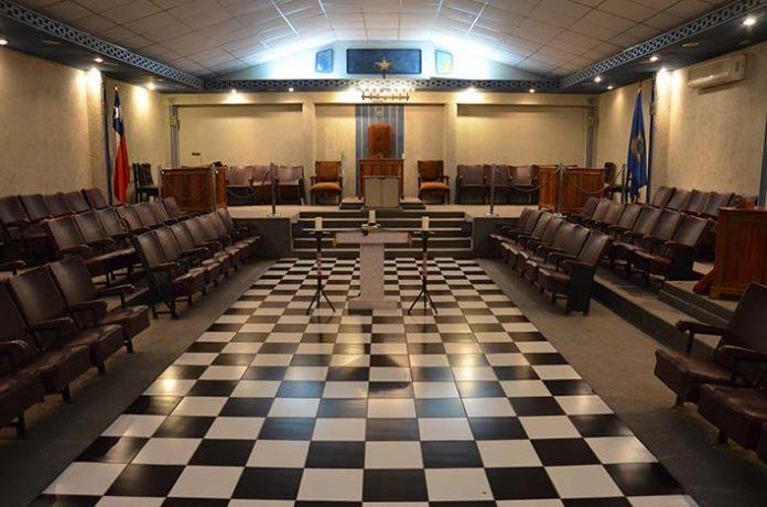 Temple maçonnique au Chili