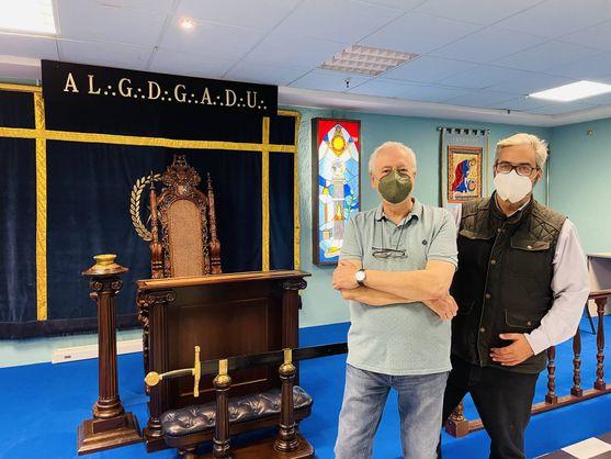 Nicolás Calvo et Pavel Gómez del Castillo, au LGE